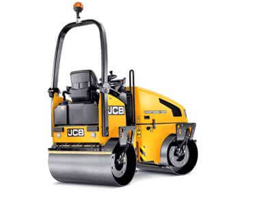 JCB Vibromax VMT 260-120 Road Rollers for Hire - www.lowloader.ie