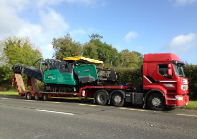 3 axle Low Loader 2 - plant haulage - www.lowloader.ie