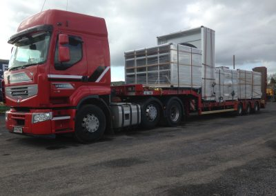 3 axle Low Loader 3 - plant haulage - www.lowloader.ie