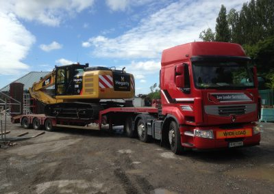 3 axle Low Loader 4 - plant haulage - www.lowloader.ie