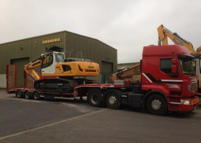 3 axle Low Loader 6- plant haulage - www.lowloader.ie