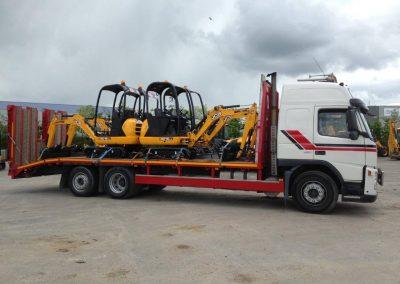 Rigid Beavertail Truck 2 - Plant Haulage - www.lowloader.ie